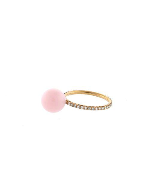 Irene Neuwirth | Pink Opal Diamond Pave Ring | Lyst