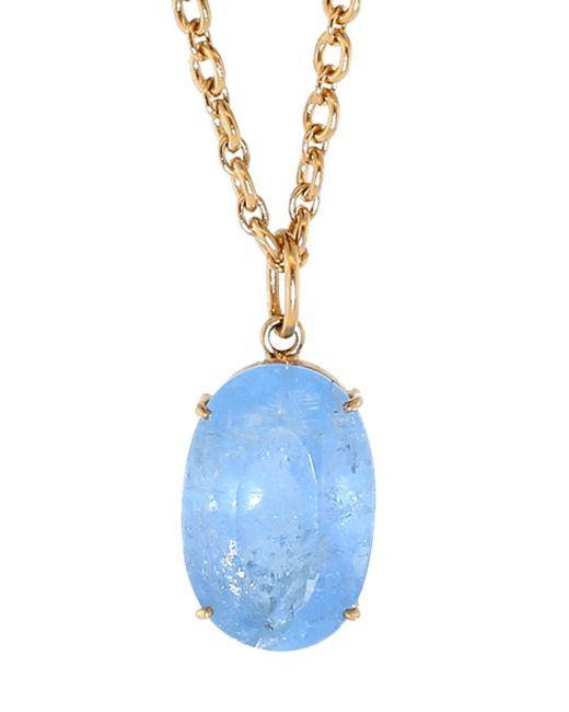 Irene Neuwirth - Blue Fine Aquamarine Charm - Lyst