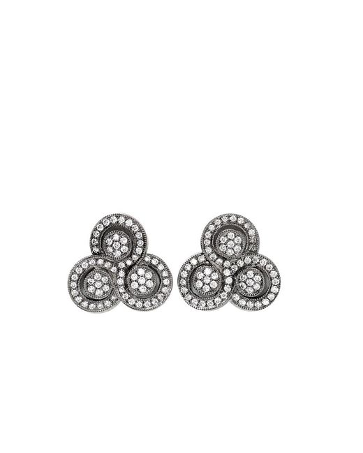 Dana Rebecca | Black Rachel Beth Diamond Earrings | Lyst