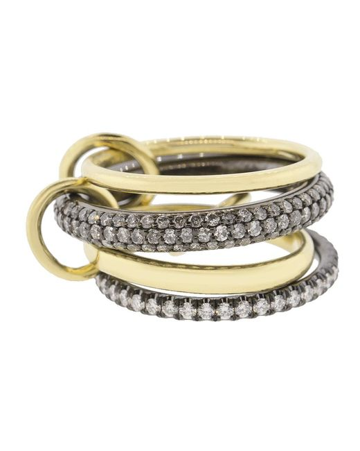 Spinelli Kilcollin - Metallic Vega Four Linked Rings - Lyst