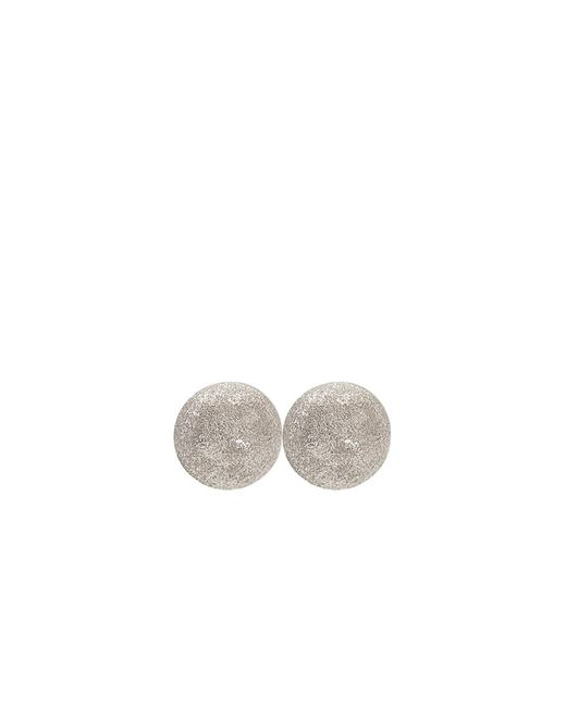 Carolina Bucci | White Medium Sparkly Ball Earrings | Lyst