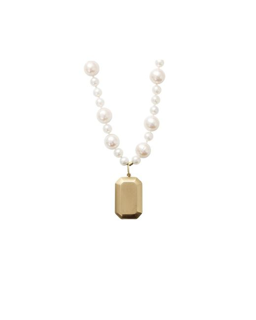 Carolina Bucci | White Looking Glass Fresh Water Pearl Necklace | Lyst
