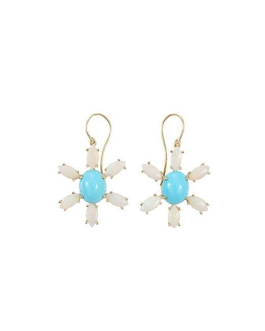 Andrea Fohrman - Blue Sleeping Beauty Turquoise Earrings - Lyst