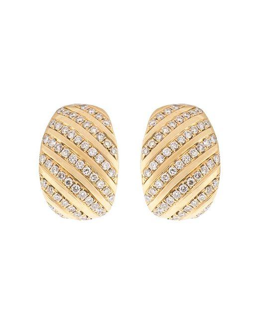 Dana Rebecca Metallic Diamond Earrings