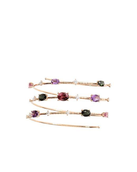 Mattia Cielo | Green Rugiada Three-circle Wrap Rainbow Bracelet | Lyst