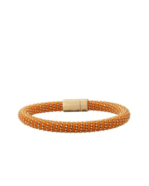 Carolina Bucci | Orange Twister Band Bracelet | Lyst