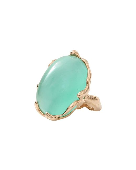 Lucifer Vir Honestus | Green Prehnite Chicco Ring | Lyst