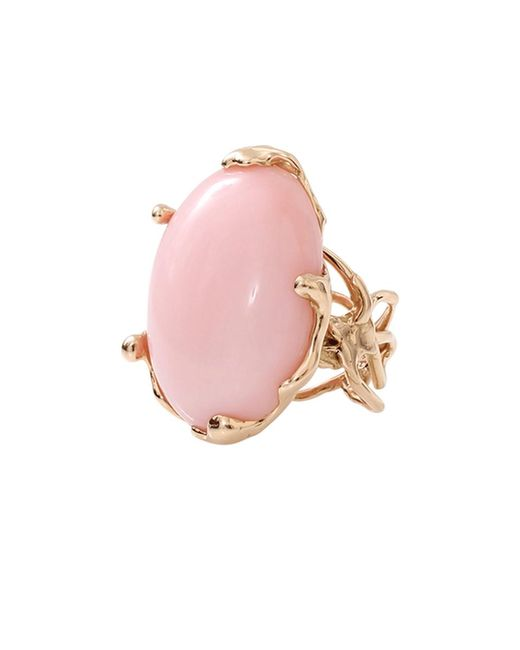 Lucifer Vir Honestus | Pink Opal Chicco Ring | Lyst