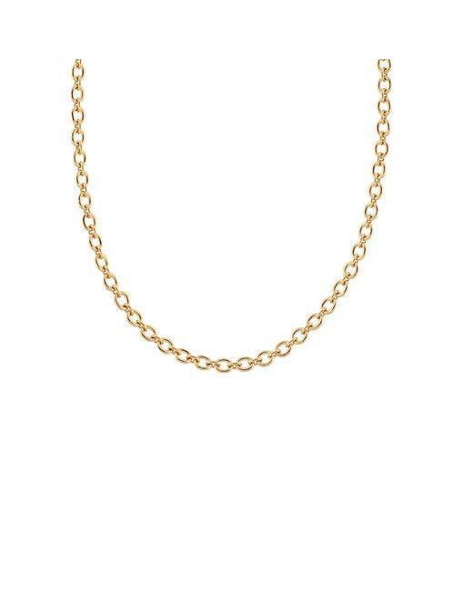 Irene Neuwirth | Metallic Tiny Oval Link Chain Necklace | Lyst
