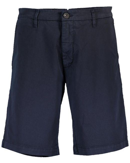 Eleventy Blue Chinos Bermuda Short for men