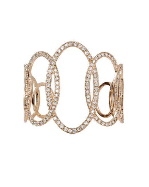 Inbar | Pink Diamond Oval Cuff | Lyst