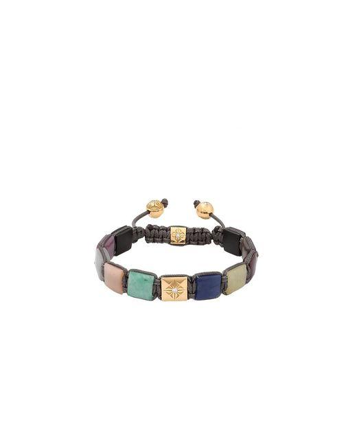 Shamballa Jewels | Multicolor Mix Stone Lock Bracelet | Lyst