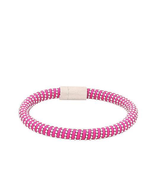 Carolina Bucci - Multicolor Magenta Twister Band Bracelet - Lyst
