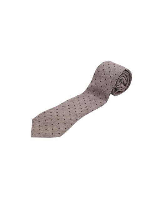 Brunello Cucinelli | Brown Polka Dot Tie for Men | Lyst