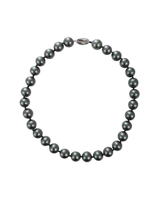 Fantasia Jewelry - Gray Grey Pearl Necklace - Lyst