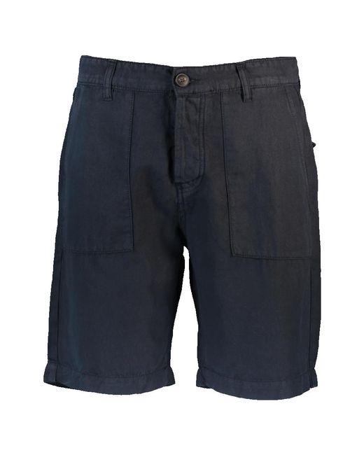 Eleventy Blue Fatique Bermuda Short for men