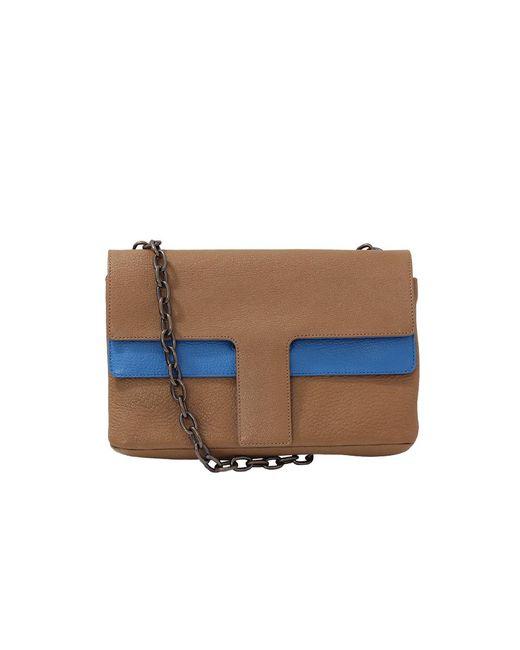 Tomas Maier | Blue Shiny Madras Bi-color Bag | Lyst