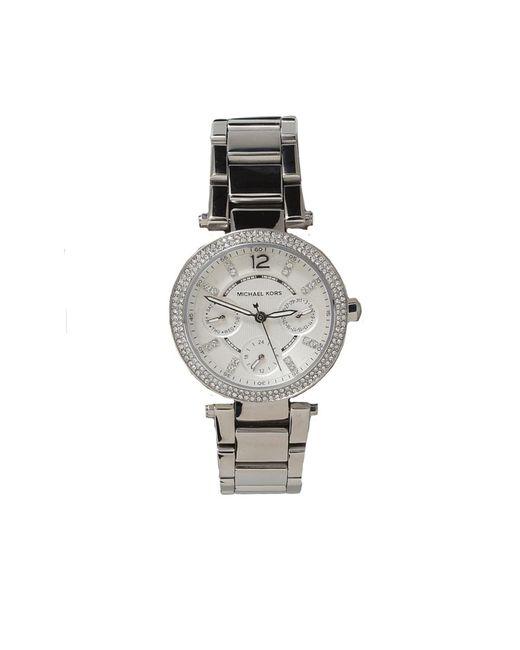 Michael Kors Metallic Mini Parker Watch