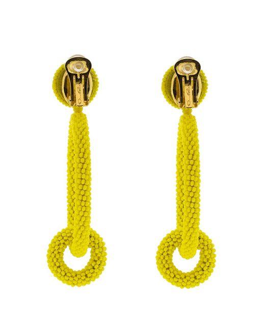 how to make double hoop beaded earrings