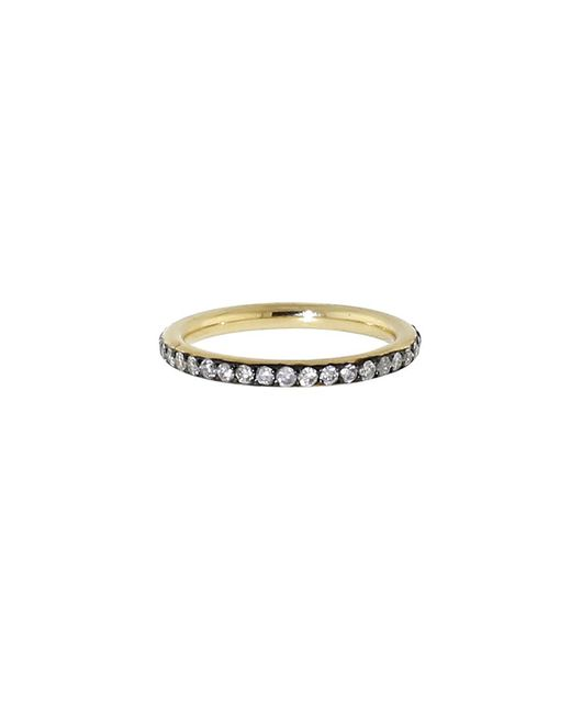 Sylva & Cie | Metallic Grey Diamond Eternity Ring | Lyst