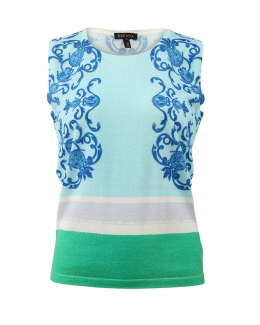 ESCADA - Multicolor Seltame Knit Shell - Lyst