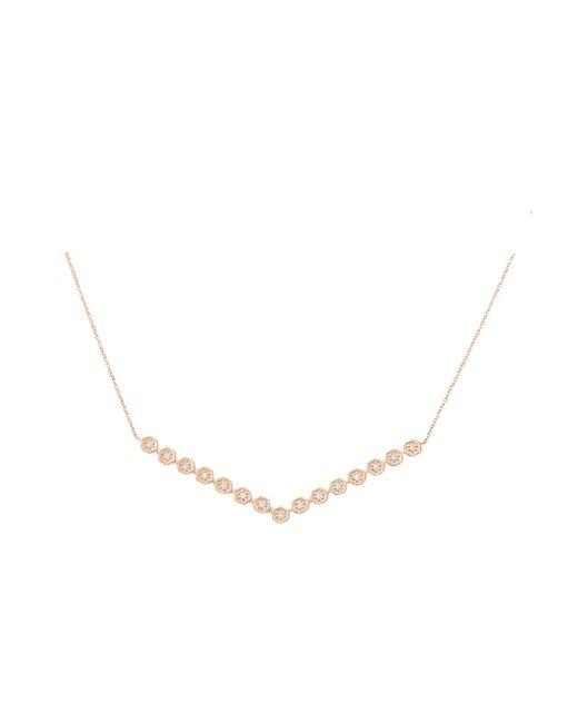 Dana Rebecca - Metallic Jennifer Yamini Diamond Necklace - Lyst
