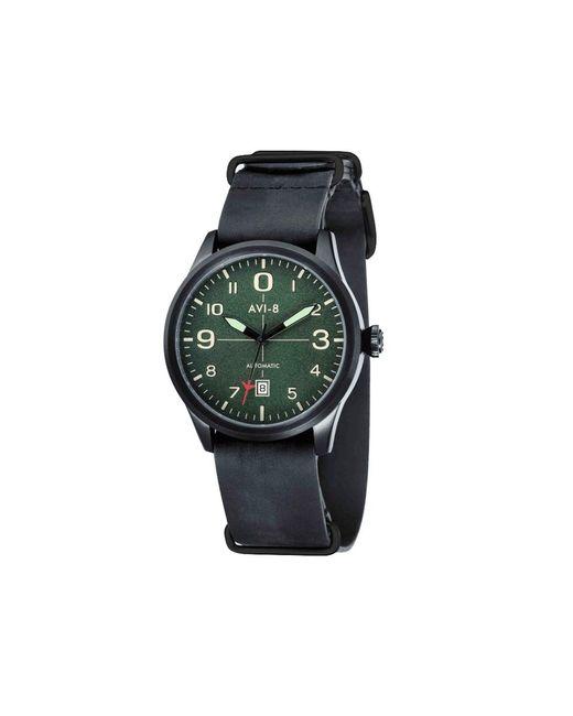AVI-8 - Green Flyboy Watch - Lyst
