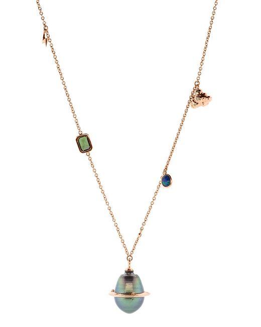 Bibi Van Der Velden - Metallic Small Planet Necklace - Lyst