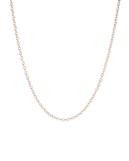 Irene Neuwirth - Metallic Tiny Oval Link Chain - Lyst