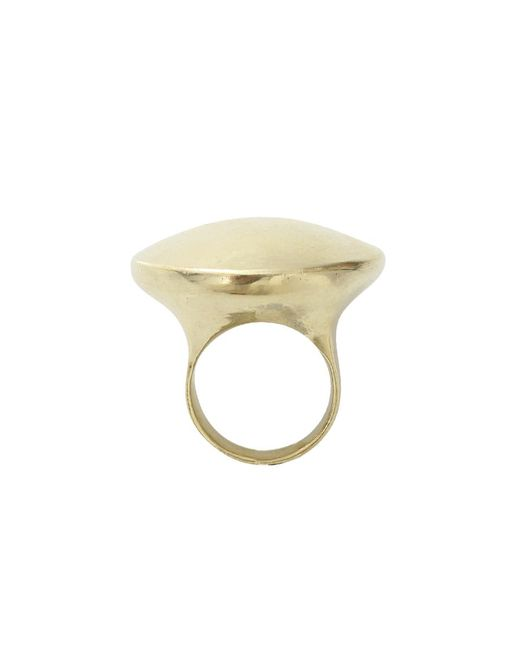 Vaubel - Metallic Solid Round Ring - Lyst