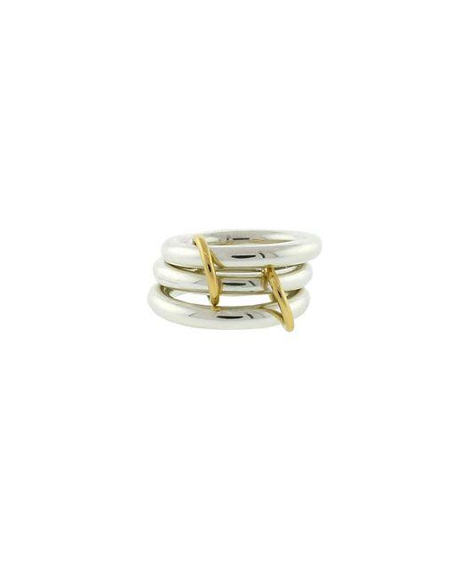 Spinelli Kilcollin - Metallic Mercury Sg Three Link Rings - Lyst