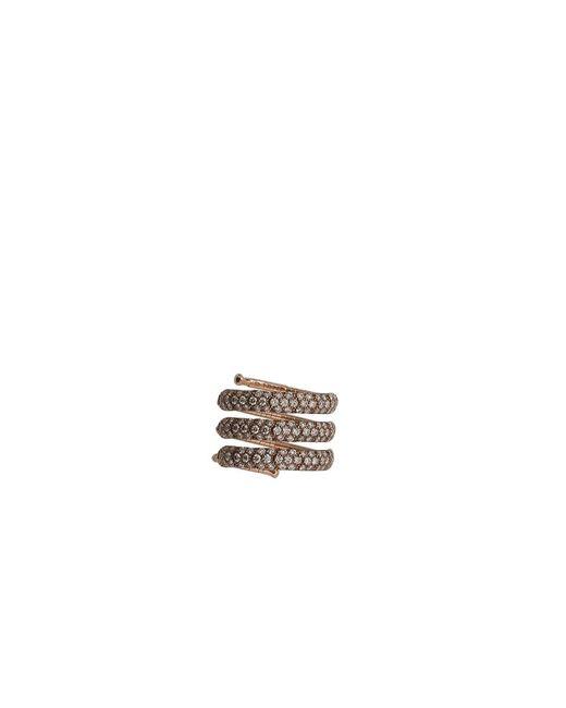 Mattia Cielo | Metallic Rugiada Three-circle Wrap Ring | Lyst