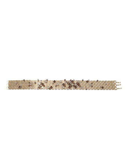 Lanvin - Metallic Choker Necklace - Lyst