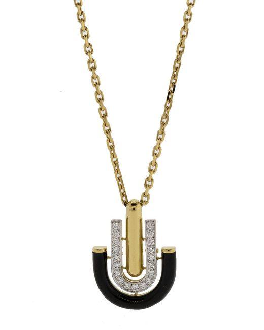David Webb - Metallic Unity Necklace - Lyst