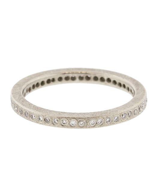 Todd Reed - Metallic Palladium White Diamond Eternity Ring - Lyst