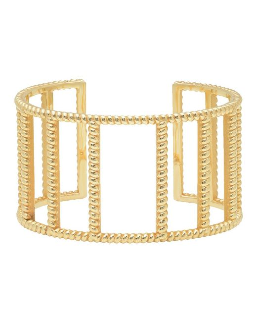 Nancy Newberg - Metallic Twist Frame Cuff Bracelet - Lyst