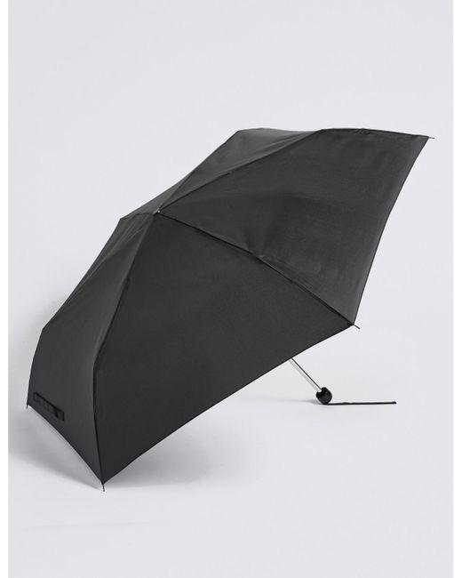 Marks & Spencer Black Sheen Compact Umbrella