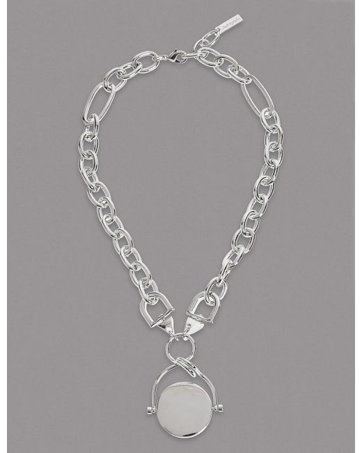 Marks & Spencer - Metallic Spinner Chain Necklace - Lyst