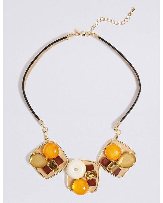 Marks & Spencer | Metallic Explorer Statement Collar Necklace | Lyst