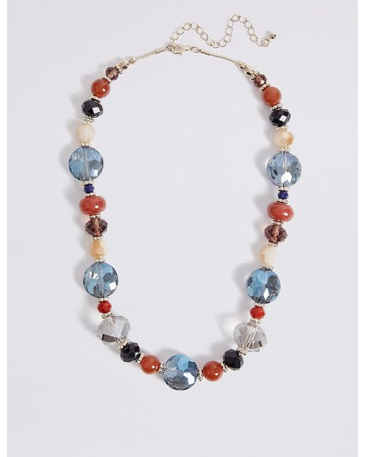 Marks & Spencer | Multicolor Assorted Collar Necklace | Lyst