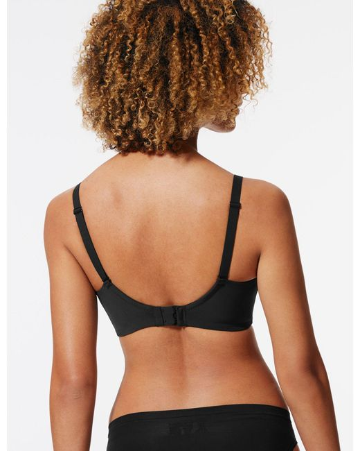f3a68411b6 Marks   Spencer Flexi-fit Non-padded Full Cup Bra A-f in Black - Lyst