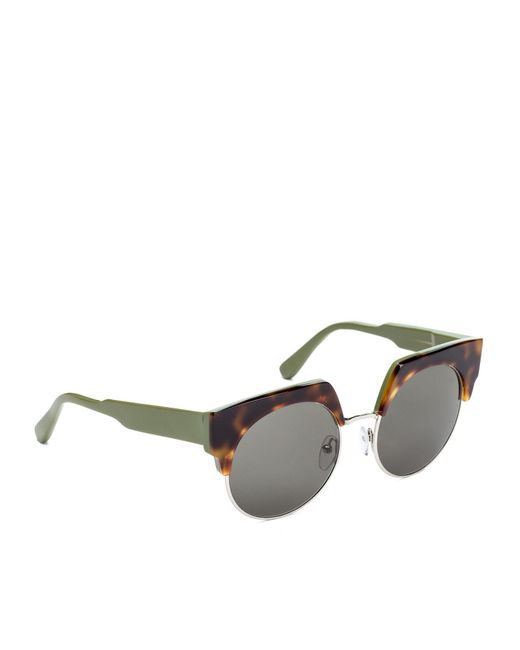 1be119effc ... Marni - Multicolor Graphic Glasses In Acetate And Metal - Lyst