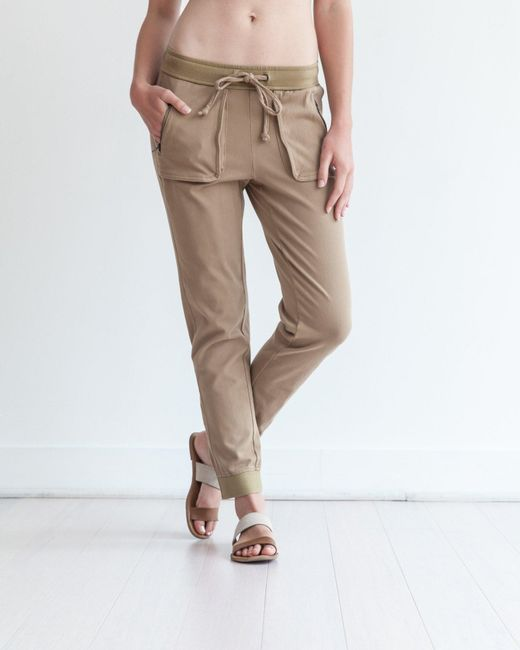 Marrakech | Brown Knit Rio Jogger | Lyst
