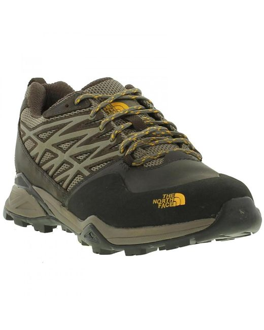 The North Face - Brown North Face Hedgehog Hike Gtx Waterproof Walking Shoes Trainers for Men - Lyst