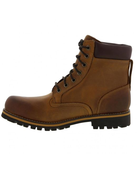 298451a1b4e Men's Earthkeeper Rugged 6 Inch Waterproof Boots - Red Brown