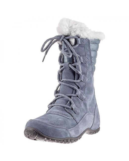 ... The North Face - Gray North Face Nuptse Purna Ii Waterproof Walking  Snow Boots - Lyst ... f1f64f785