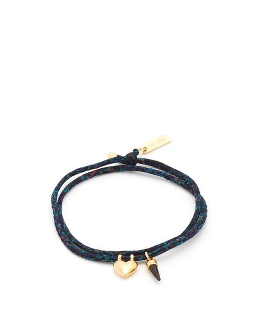 Isabel Marant   Green Charm Friendship Bracelet   Lyst