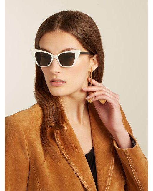 Victoire cat-eye sunglasses Saint Laurent Ik9uzHtG