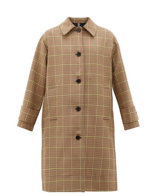MSGM チェック プリーツ シングルコート Multicolor