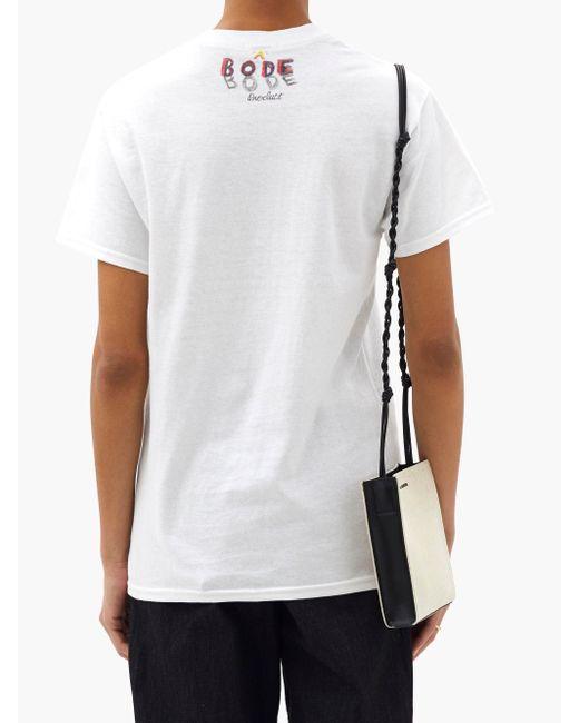 Bode シープ コットンtシャツ White